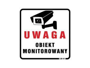 Uwaga obiekt monitorowany